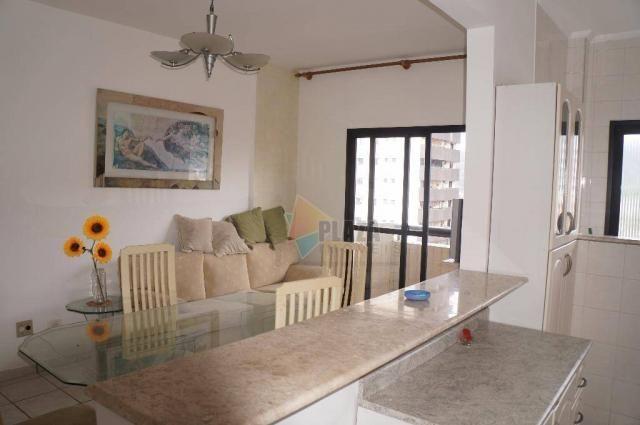 Apartamento com 2 dormitórios à venda, 70 m² por R$ 250.000,00 - Canto do Forte - Praia Gr - Foto 2