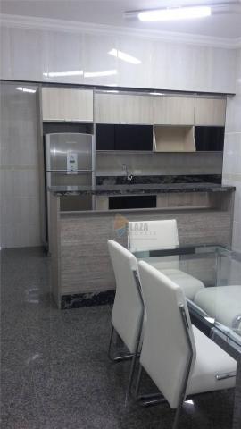 Apartamento para alugar, 141 m² por r$ 3.500,00/mês - canto do forte - praia grande/sp - Foto 5