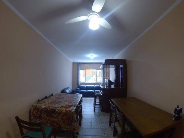 Apartamento para alugar, 90 m² por R$ 1.700,00/mês - Canto do Forte - Praia Grande/SP - Foto 19
