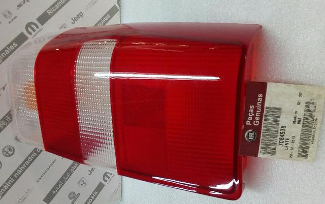 7084538-Lente Lanterna Original Fiat Fiorino 04/13 - Foto 2