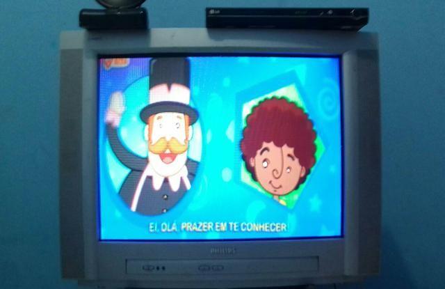 Tv 29 polegadas + DVD LG