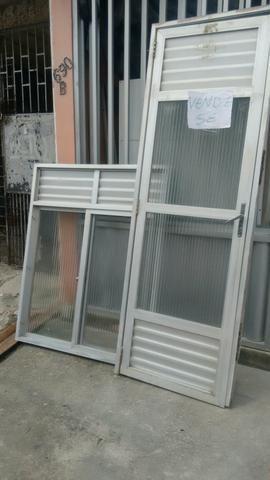 Porta e janela de alumínio
