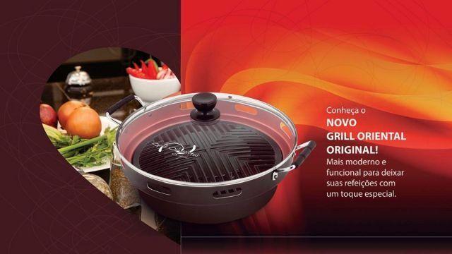Grill Oriental Original Guassu - Churrasqueira Para Fogão