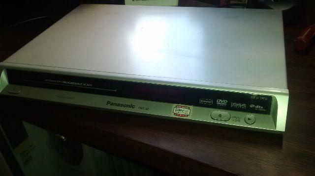DVD Player Panasonic Modelo DVD-S2 - toca DVD/CD/MP3/Divx