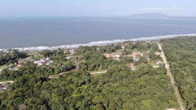 Terreno à venda, 375 m² por r$ 40.000,00 - rosa dos ventos - itapoá/sc