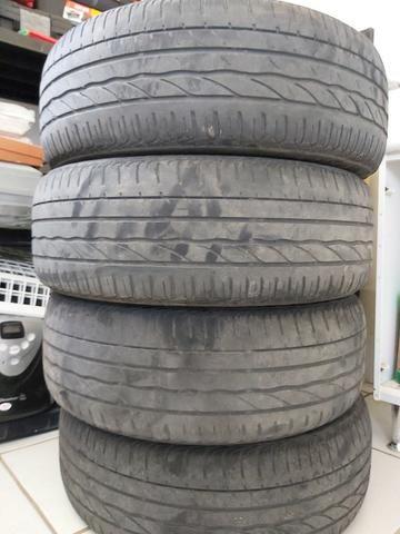 Pneu Bridgestone Turanza 185/55/16 Meia vida 4 unidades - Foto 5