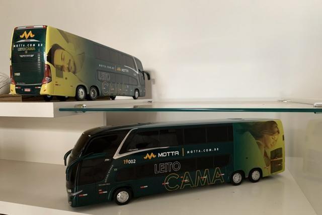 Miniaturas Ônibus MOTTA Leito Cama - Foto 5