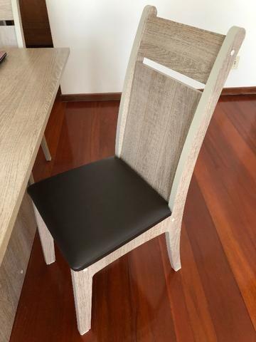 Mesa de Jantar com 4 Cadeiras Novíssima - Foto 3