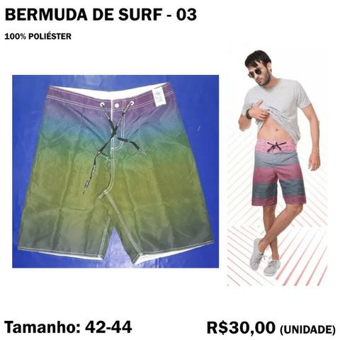 Bermuda Surf Surfista - Tamanho 42 - 44 - Foto 4