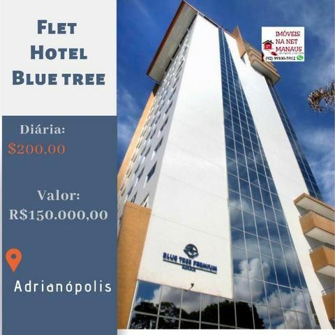 Flet Hotel Blue Tree 100% mobiliado