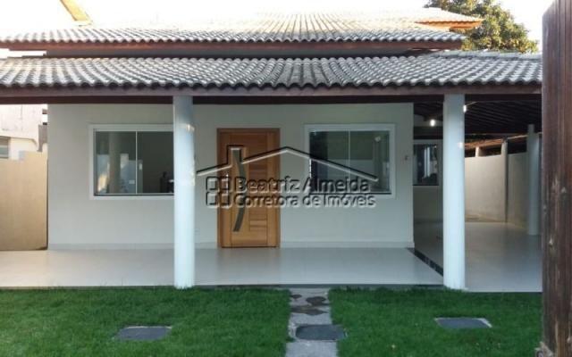 Linda casa de 3 quartos, sendo 1 suíte com Closet, no Recanto - Itaipuaçu