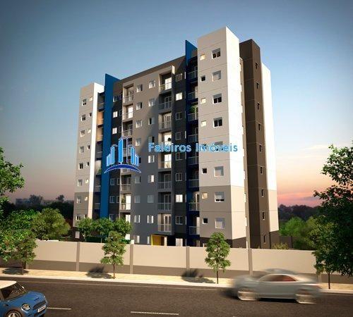 Apartamento de 1 e 2 dormitórios , com sacada e lazer - Apartamento em Lançament...