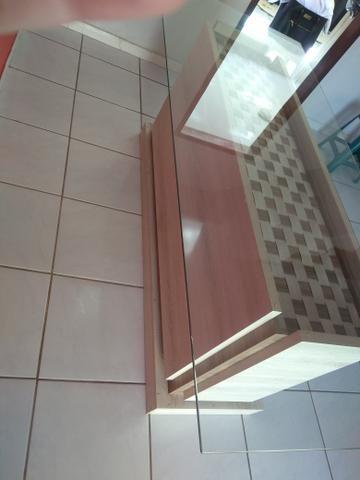 Mesa com tampo em vidro - Foto 2