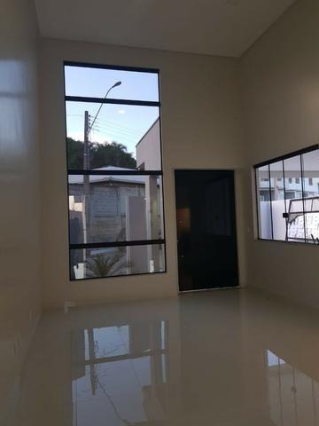Casa Nova c/ 3 Suítes + Área de Lazer em Cond. Fechado na DF-425 - Sobradinho - Foto 7