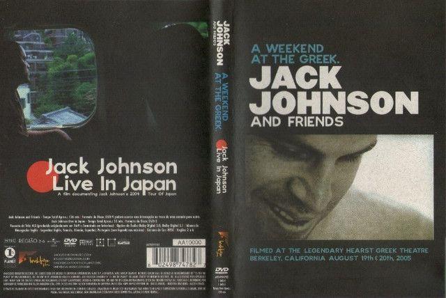 DVD Jack Johnson - A Weekend at the Greek (Original, Duplo e Raro) - Foto 2