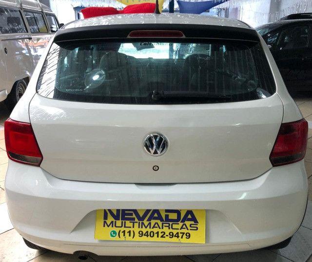 Volkswagen Novo Gol 2014 1.0 Flex Track Completo Branco (Estudo Troca e Financio) - Foto 4
