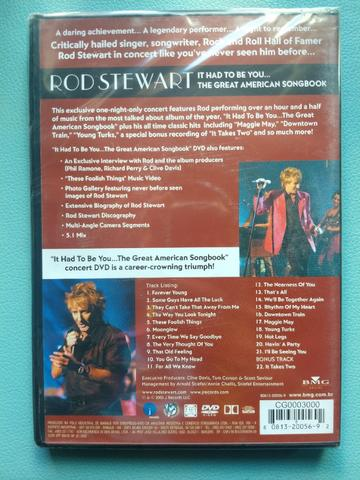 NOVO - DVD Rod Stewart - It Had To Be You - Foto 4