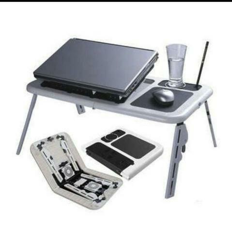 Mesa Dobrável Notebook 2 Cooler Mousepad Cabo USB