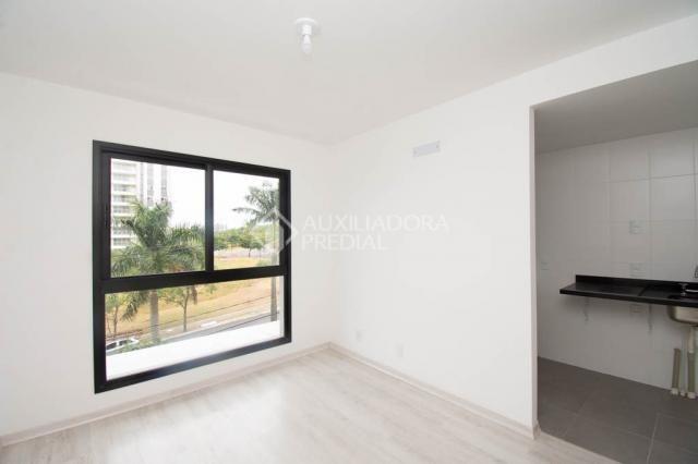 Apartamento para alugar com 1 dormitórios em Jardim do salso, Porto alegre cod:307116 - Foto 2