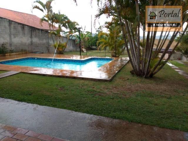 Chácara com 2 dormitórios para alugar, 250 m² por R$ 2.600/mês - Gramado Santa Rita - Camp - Foto 3