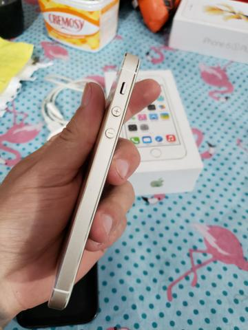 Iphone 5s gold 16gb zerado Anatel 4g - Foto 3