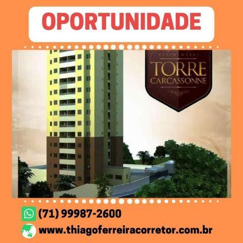 Excepcional Torre Carcassone, 2 Quartos com suíte, em 54m² no Iguatemi - Foto 2