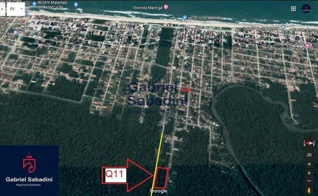 Terreno à venda, 390 m² por R$ 3.800,00 - Rainha do Mar - Itapoá/SC - Foto 3