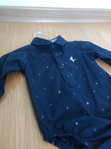 Camisa social bory menino tamanho G. - Foto 2