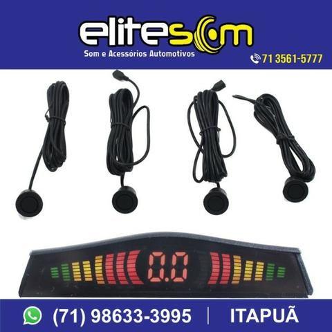 Sensor de Estacionamento Emborrachado com Display, instalado na Elite Som - Foto 3