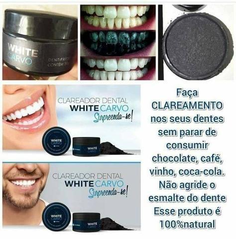 White carvo clareador dental - Foto 5