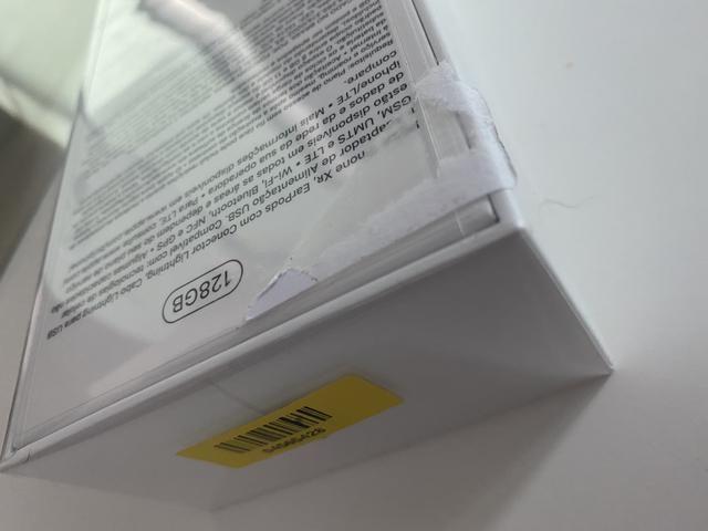 IPhone XR 128GB Preto Novo com NF - Foto 3