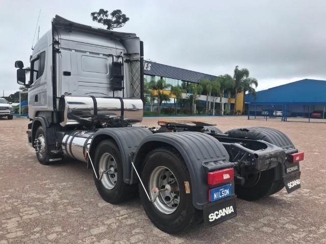 Scania R 510 6x4, 18/19, Higline Streamline, Freio Retarder - Top de Linha - Foto 6