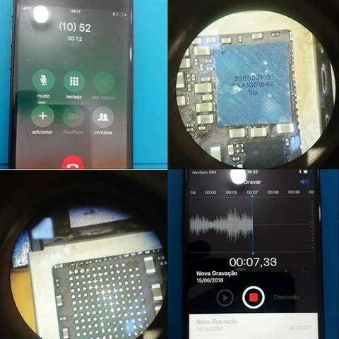 Reparo iPhone 7/7Plus Sem Áudio - Foto 3
