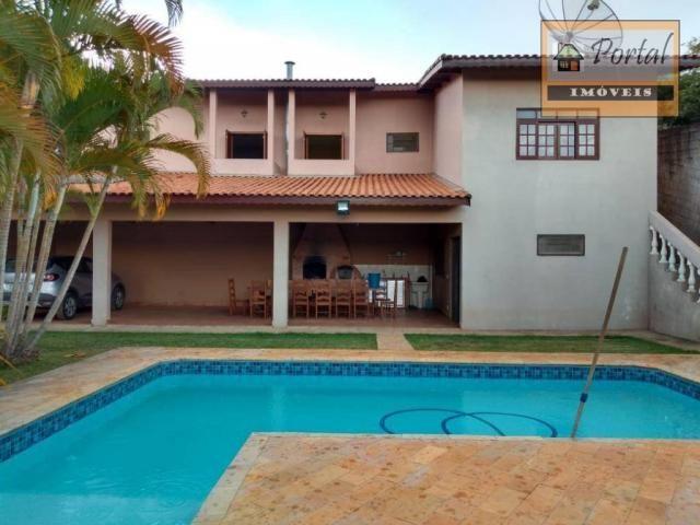 Chácara com 2 dormitórios para alugar, 250 m² por R$ 2.600/mês - Gramado Santa Rita - Camp