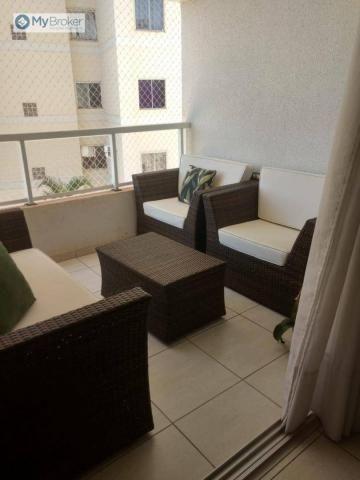 Apartamento com 2 dormitórios à venda, 65 m² por R$ 330.000,00 - Jardim Goiás - Goiânia/GO - Foto 4