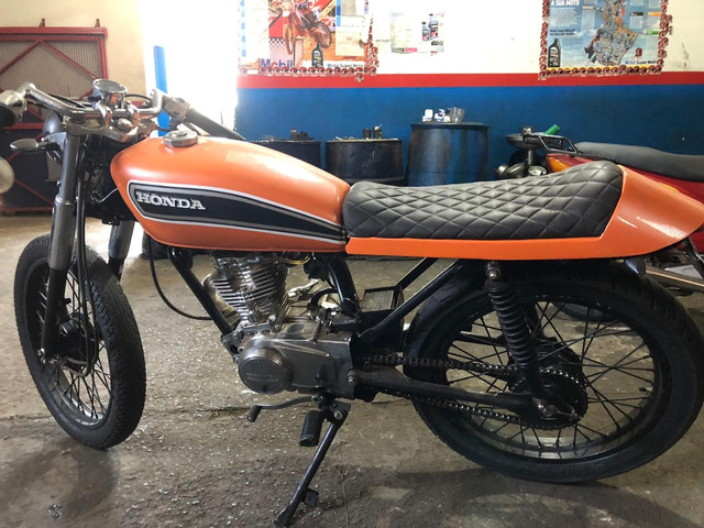 CG125 café Racer