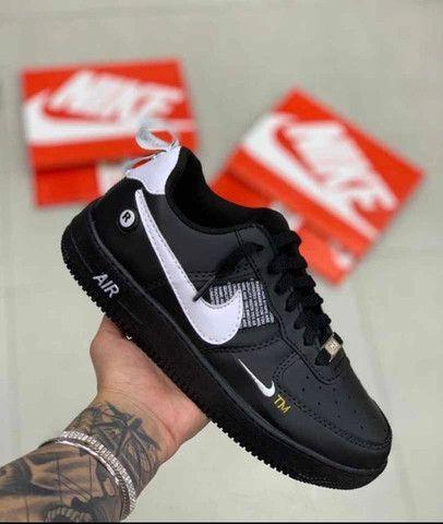 @ mandellashoes Tênis Nike Air Force Cano Curto Edição Limitada Promo 50% OFF ATÉ 12x