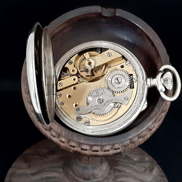 Relógio de Bolso Roskopf SA Patent - Foto 3