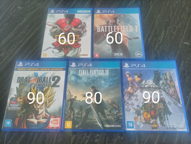 Jogos de Ps4 apenas venda - Foto 2