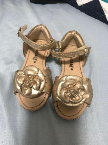 Sandálias para bebê - Foto 3