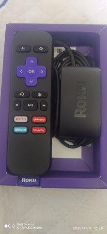 Roku express transformar tv em smartv - Foto 3