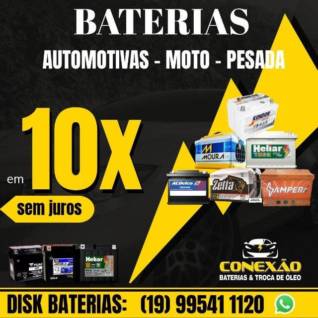 Bateria Moura 60ah 18 meses de garantia | a base de troca - Foto 4
