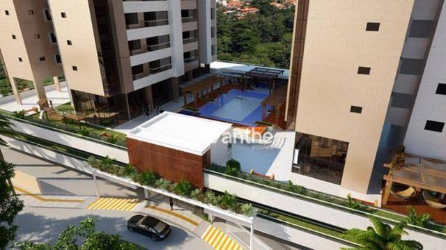 Apartamento com 3 dormitórios à venda, 107 m² por R$ 684.000 - Noivos / Zona Leste / Poeti - Foto 2