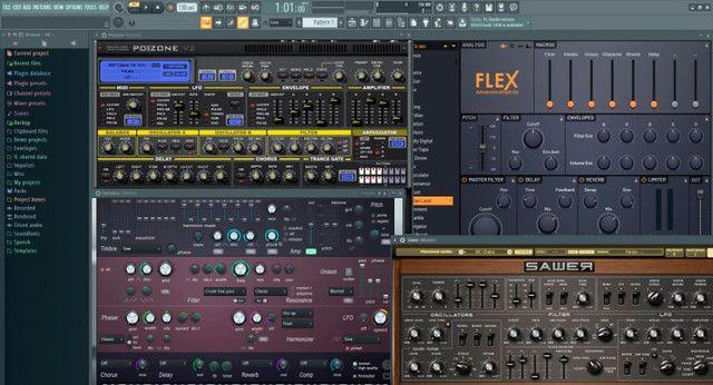 FL studio 20 com plugin flex - Foto 5