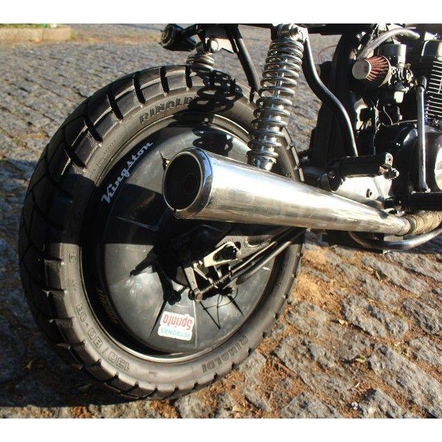 Moto Coffe Racer Custom - CB 400 82 Estilizada Tracker 1982 - Foto 14
