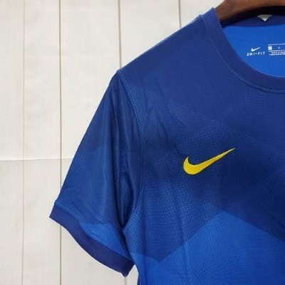 Camisa Brasil II 20/21 S/nº Azul  - Foto 4