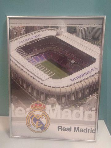 Quadro Real Madri Santiago Bernabéu