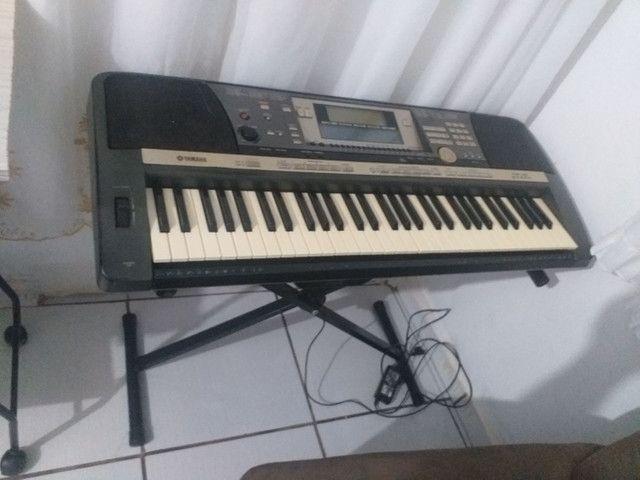 esselente teclado  yamaha 640 funciona tudo - Foto 5