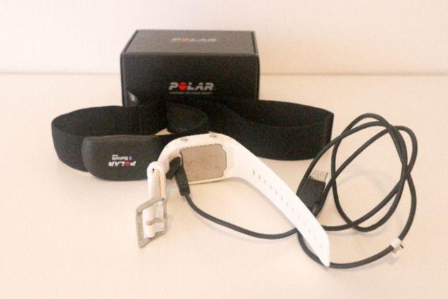 Relógio Polar M400 com GPS e Monitor Cardíaco (usado) - Foto 5