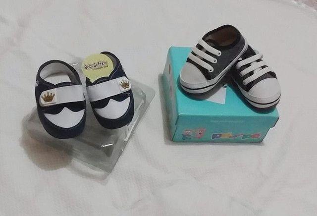 Tenis infantil para bebês masculino tamanho 15  - Foto 2